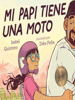 cover image of Mi papi tiene una moto