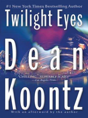 cover image of Twilight Eyes