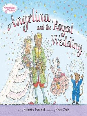 cover image of Angelina and the Royal Weddding