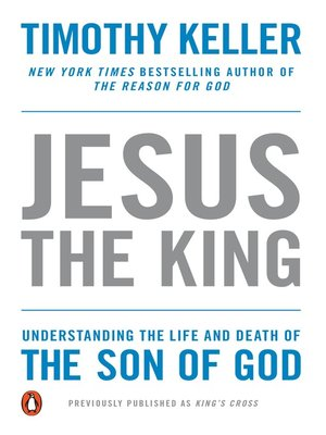cover image of Jesus the King