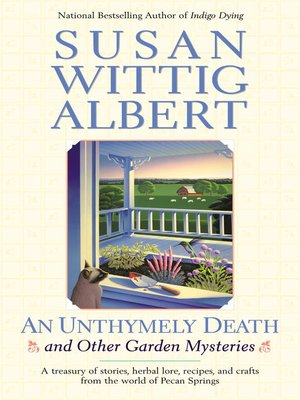 cover image of An Unthymely Death and Other Garden Mysteries