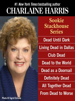 cover image of Sookie Stackhouse 8-copy Boxed Set