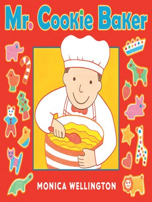 cover image of Mr. Cookie Baker