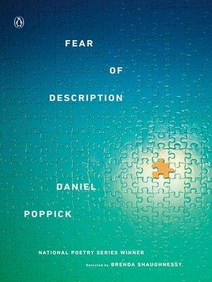 cover image of Fear of Description