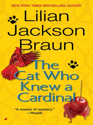 cover image of The Cat Who Knew a Cardinal