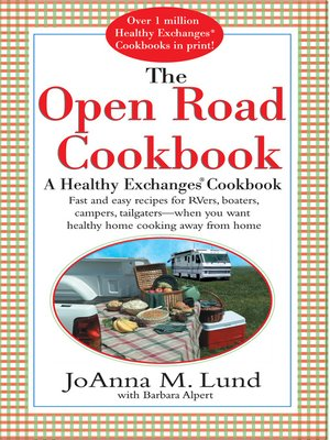 cover image of The Open Road Cookbook