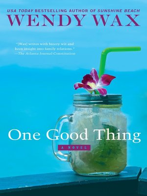 cover image of One Good Thing