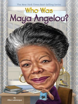 cover image of Who Was Maya Angelou?