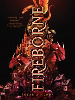 cover image of Fireborne