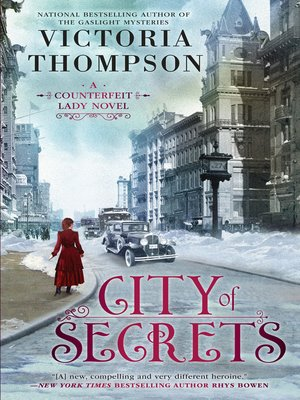 cover image of City of Secrets