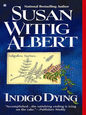 cover image of Indigo Dying