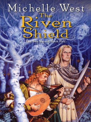 cover image of The Riven Shield