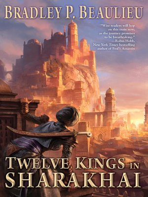 cover image of Twelve Kings in Sharakhai