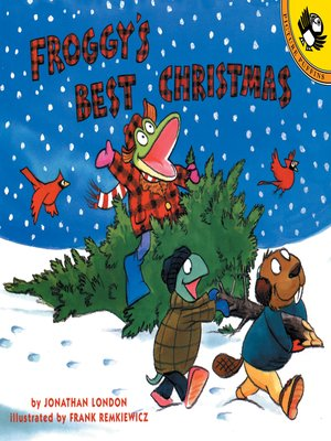 cover image of Froggy's Best Christmas
