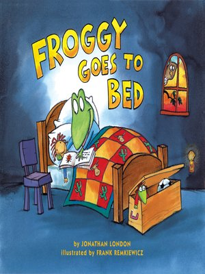 cover image of Froggy Goes to Bed