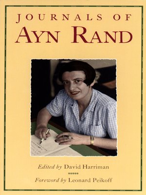 cover image of The Journals of Ayn Rand