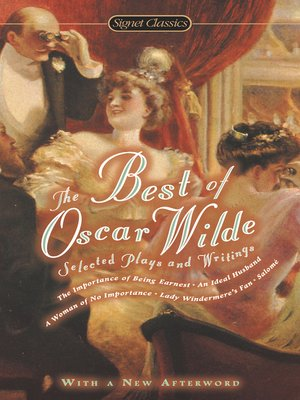 cover image of The Best of Oscar Wilde