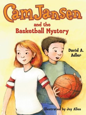 cover image of Cam Jansen and the Basketball Mystery