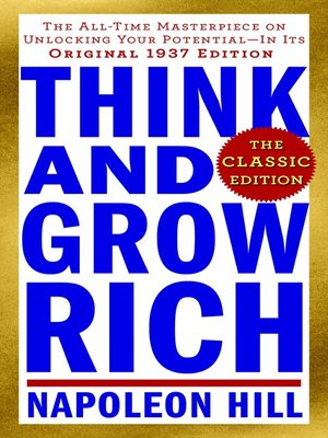 cover image of Think and Grow Rich--The Classic Edition