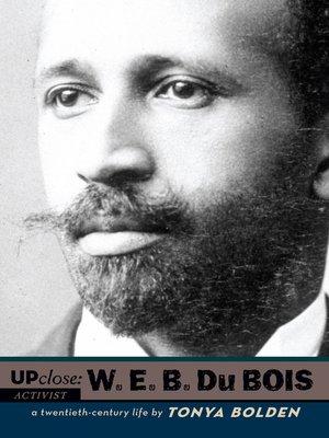 cover image of W. E. B Du Bois