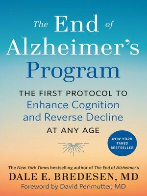 cover image of The End of Alzheimer's Program