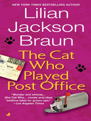 cover image of The Cat Who Played Post Office