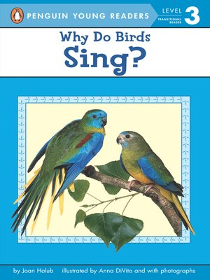 cover image of Why Do Birds Sing?