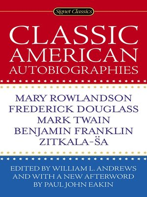 cover image of Classic American Autobiographies