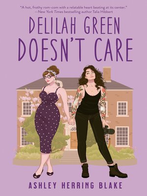cover image of Delilah Green Doesn't Care