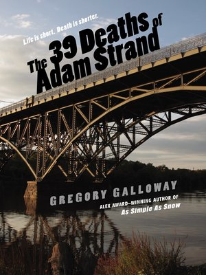 cover image of The 39 Deaths of Adam Strand