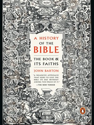 cover image of A History of the Bible