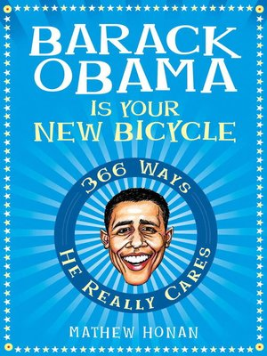 cover image of Barack Obama Is Your New Bicycle