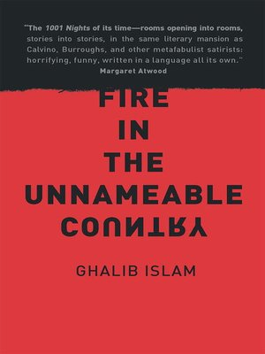 cover image of Fire in the Unnameable Country