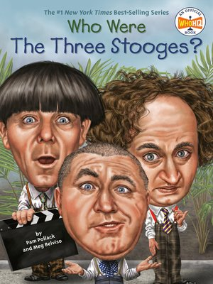 cover image of Who Were the Three Stooges?
