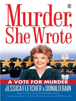 cover image of A Vote for Murder