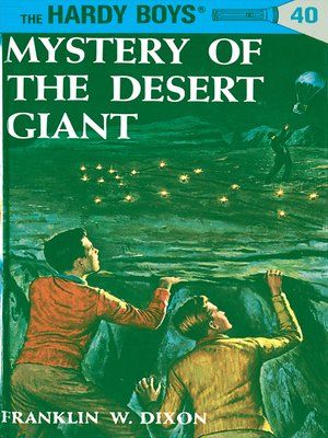 cover image of Mystery of the Desert Giant