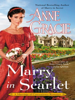 cover image of Marry in Scarlet