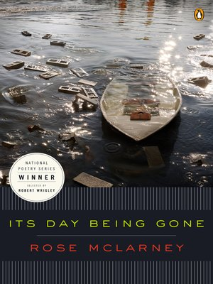cover image of Its Day Being Gone