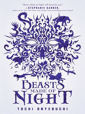 cover image of Beasts Made of Night