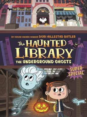cover image of The Underground Ghosts #10--A Super Special
