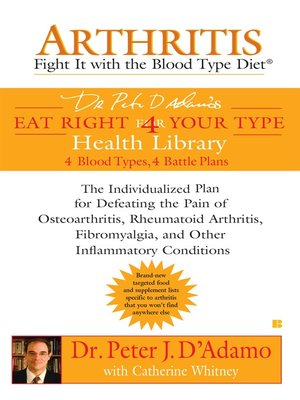 cover image of Arthritis: Fight it with the Blood Type Diet