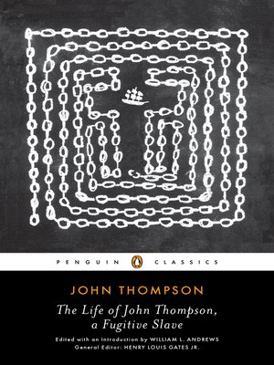 cover image of The Life of John Thompson, a Fugitive Slave
