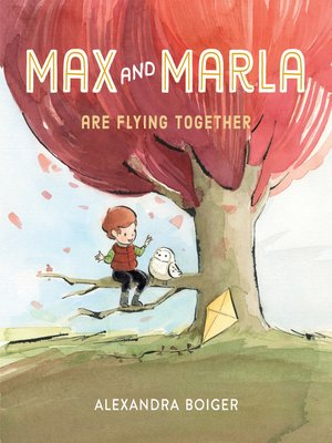 cover image of Max and Marla Are Flying Together
