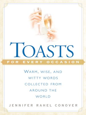 cover image of Toasts for Every Occasion