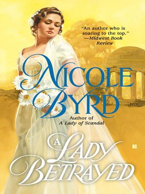 cover image of A Lady Betrayed