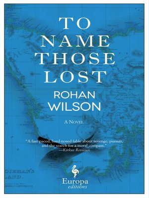 cover image of To Name Those Lost