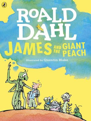 cover image of James and the Giant Peach