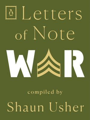 cover image of Letters of Note--War