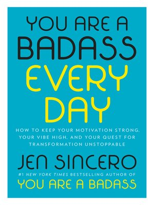 cover image of You Are a Badass Every Day