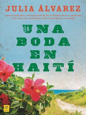 cover image of Una boda en Haiti